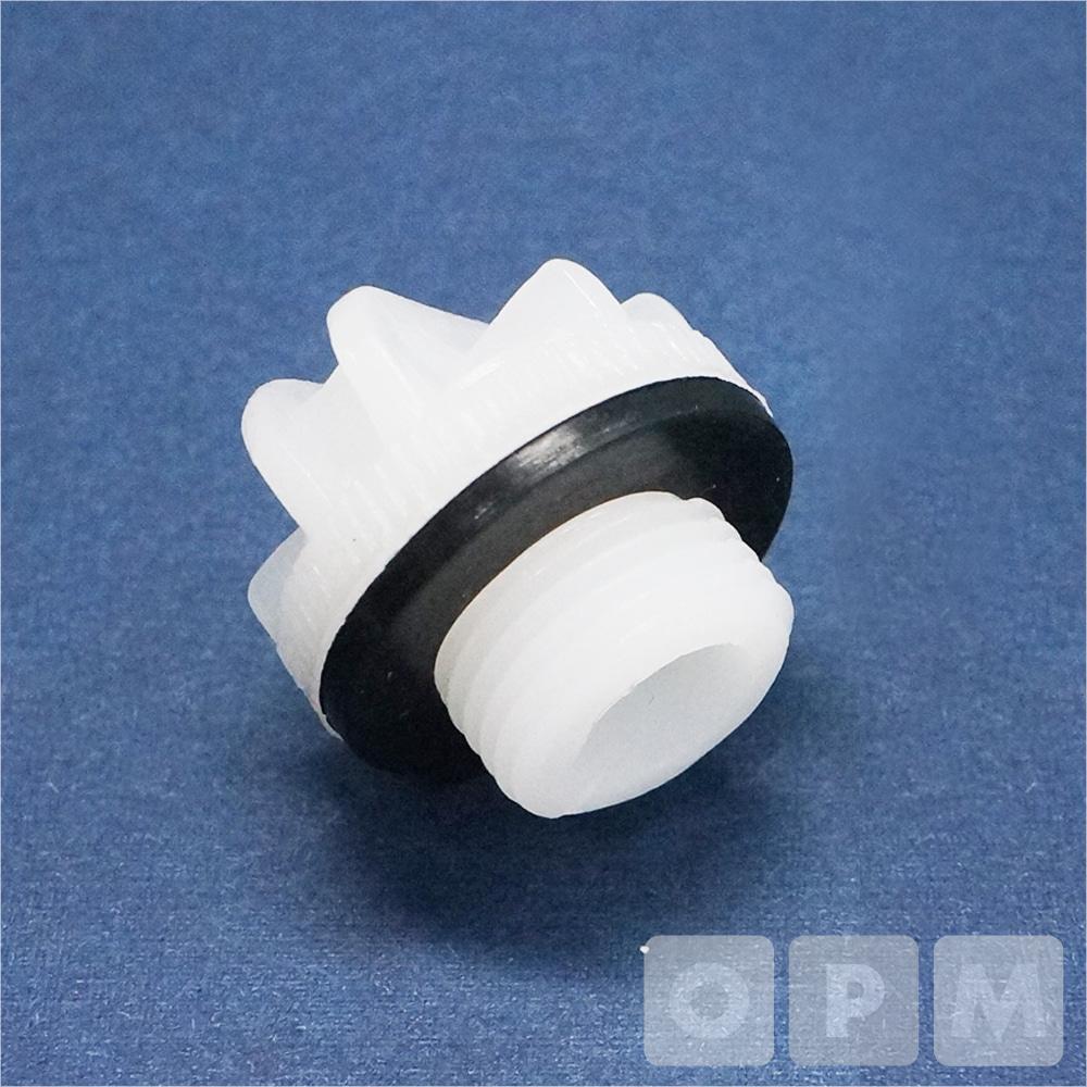 OPM 손잡이형 플라스틱 플러그 1인치(2개)