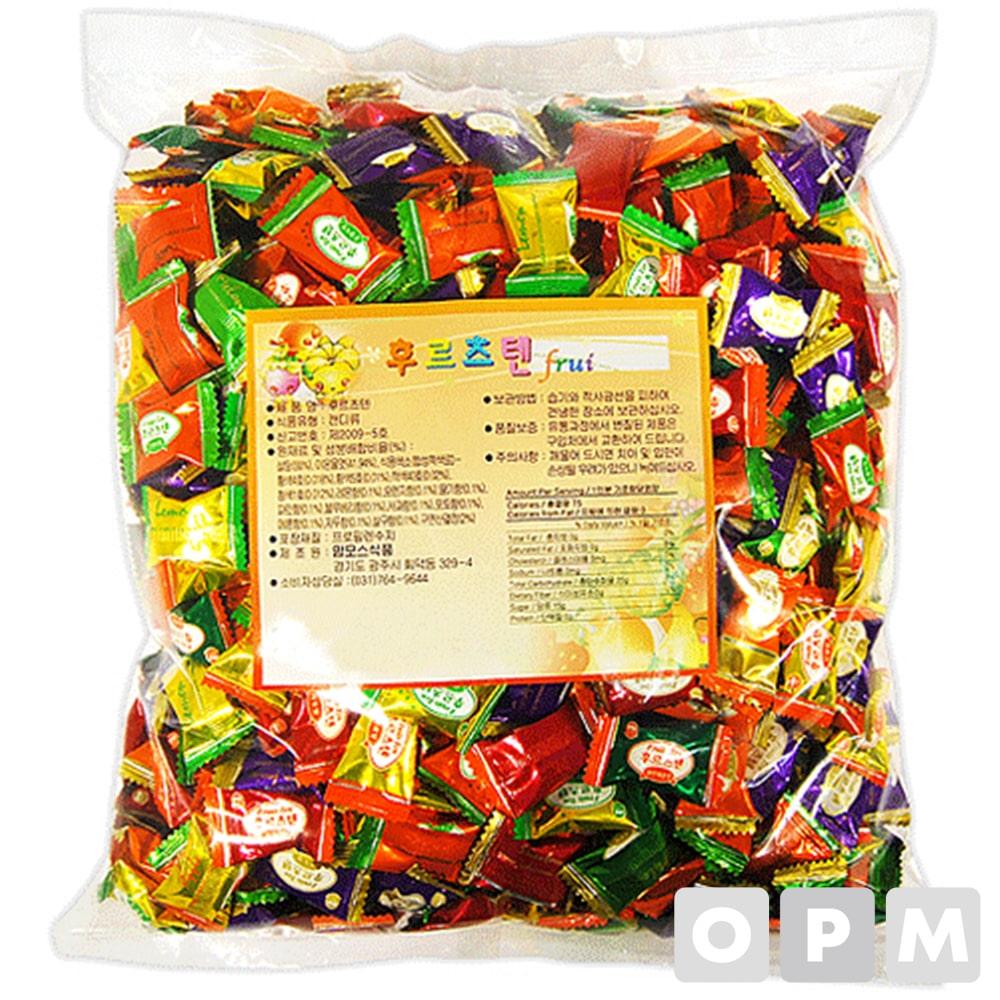 사탕 ( 후르츠텐 사탕/2.4kg ) 주문단위 4개