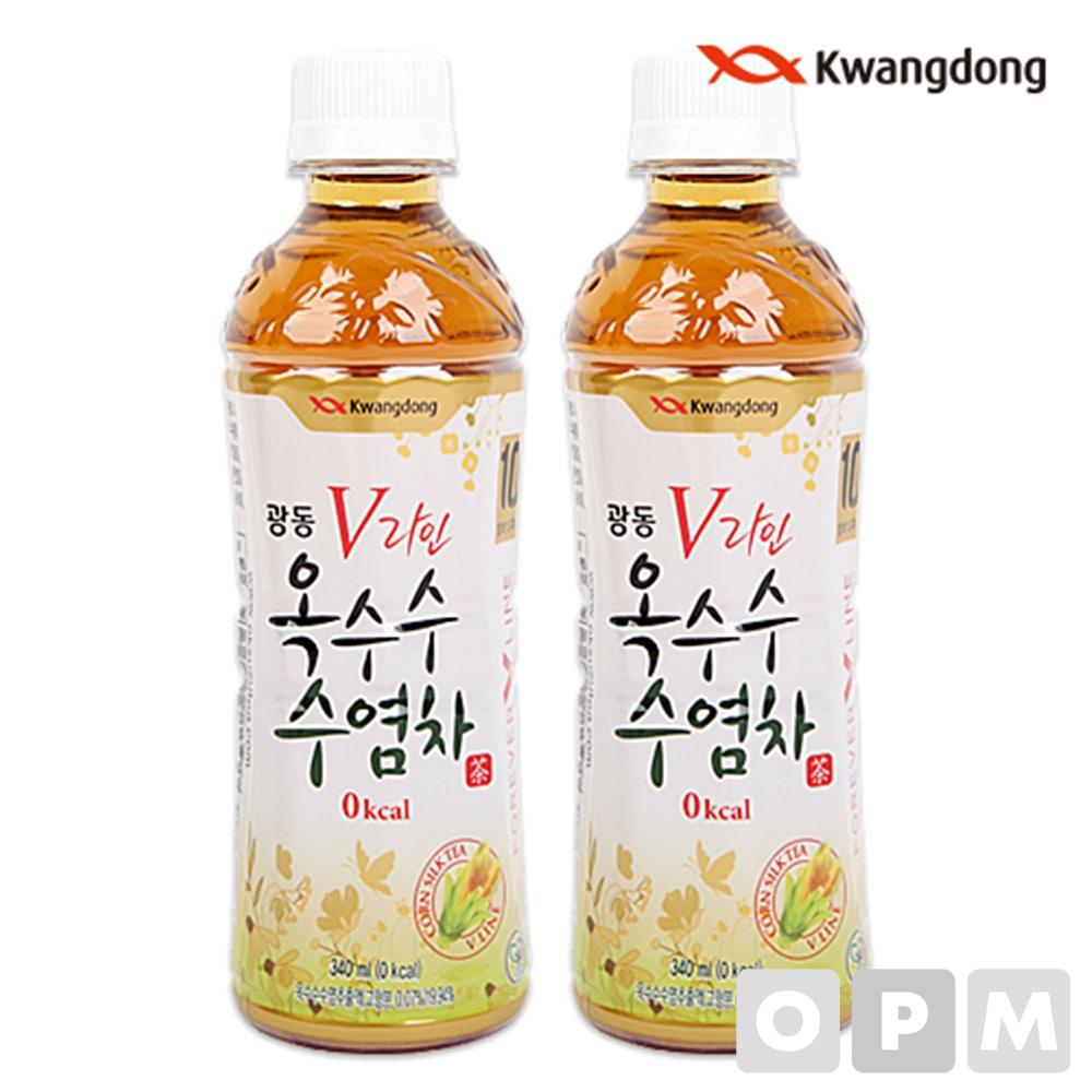 음료수 ( 광동/옥수수수염차/340ml ) 주문단위 40개