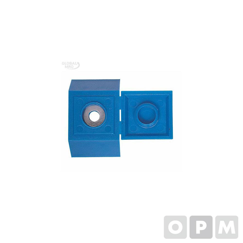 대화 스크루캡 지붕형(청색) 100EA 1봉