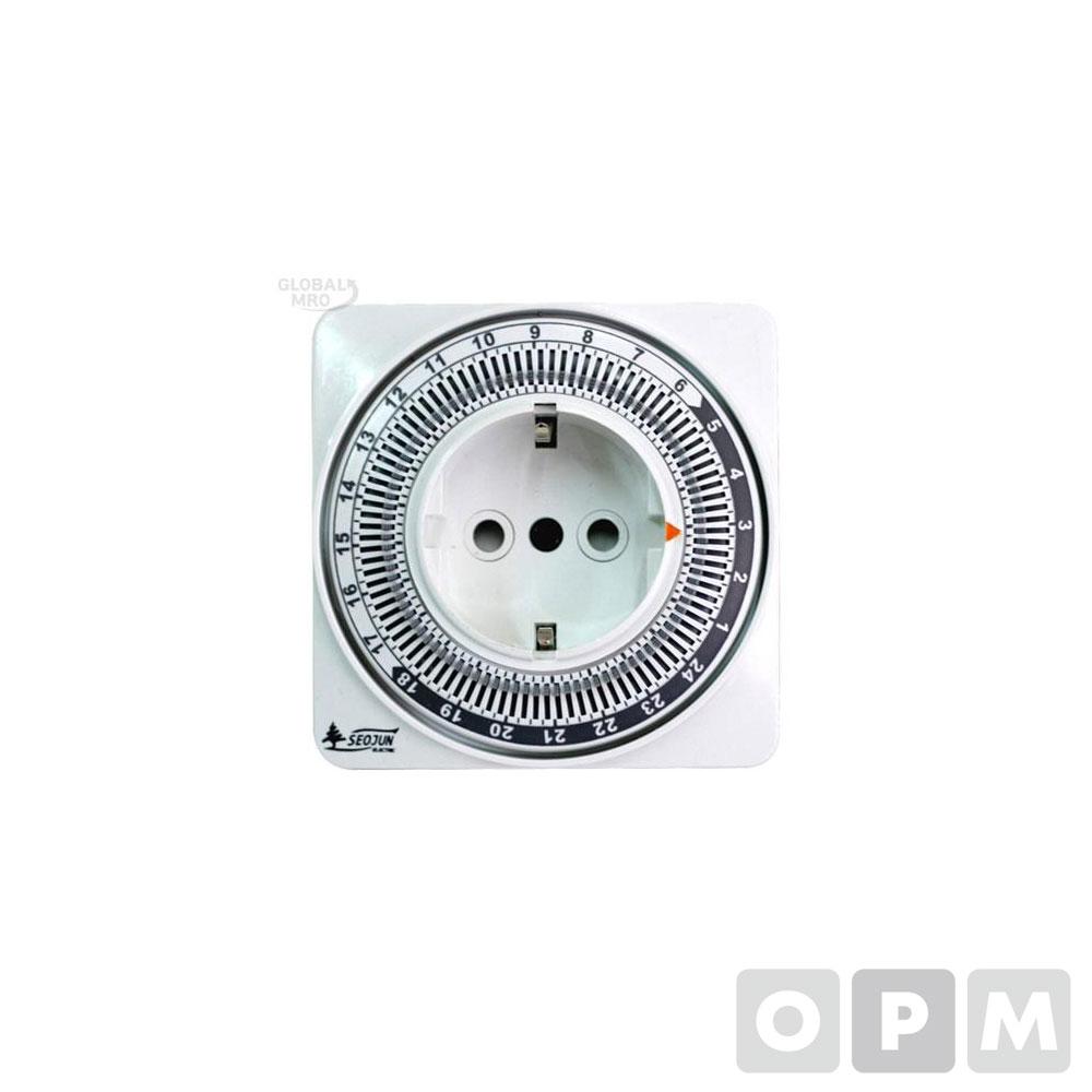 서준전기 기계식타임스위치 SJP-CP16H 1EA