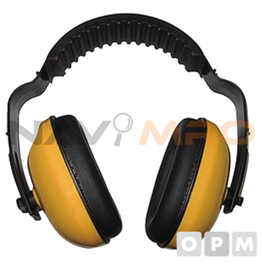 방음 귀덮개 HF601-1 1EA 노랑/차음율(NRR) 21/ 173g