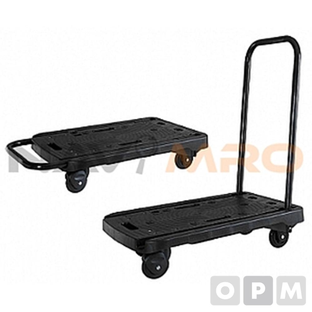 흑색 접이식대차 1EA 허용하중 100kg 710x460x820