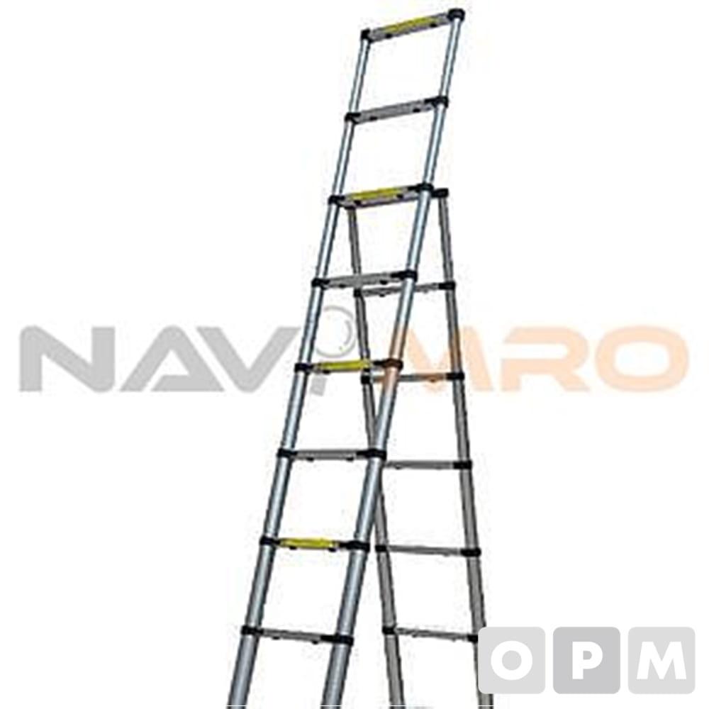 안테나형 사다리 6+8단 XT-TLA6+8 /1EA/보관높이0.91m