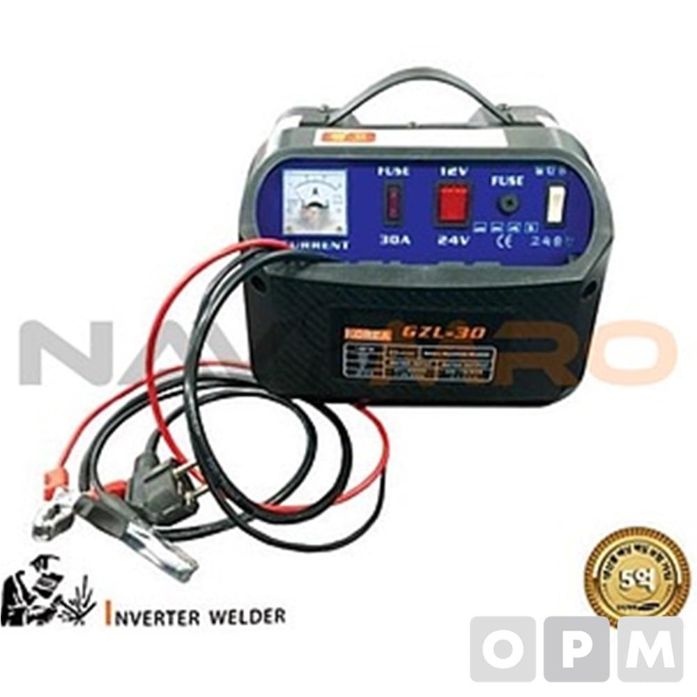 배터리 자동 충전기(12/24V) GZL-30/1EA/입력전압220V
