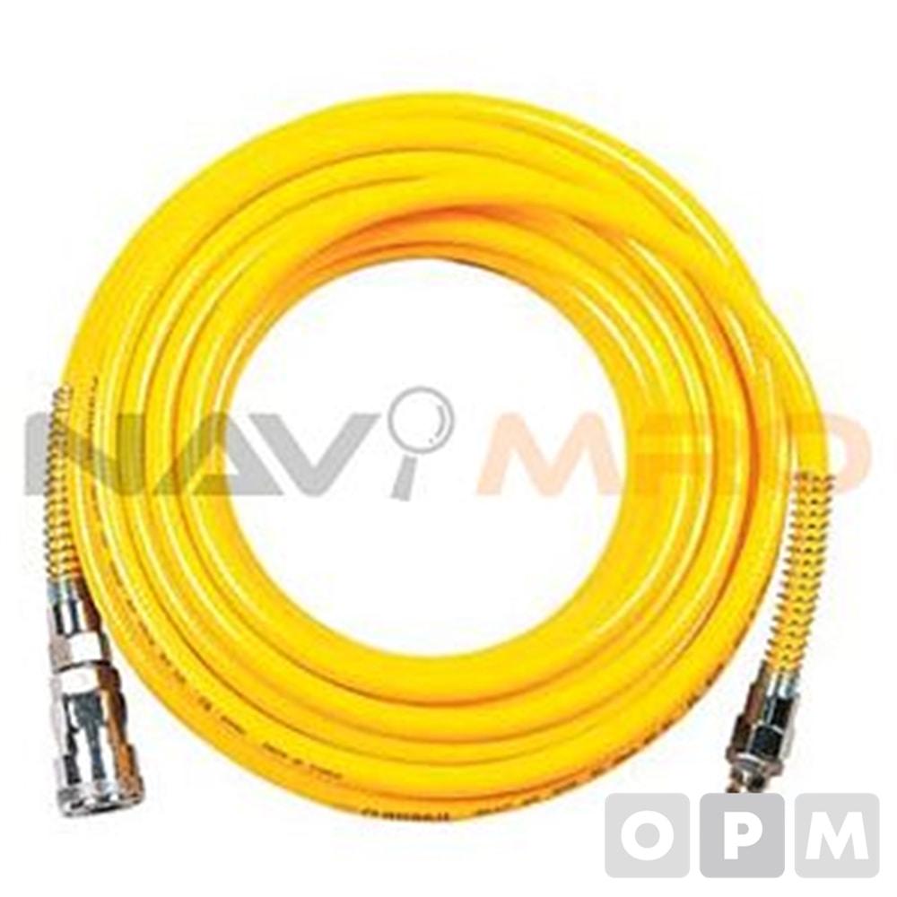 파워 호스 1EA (외경x내경mm) 10x6.5/길이 15 m/ 황색