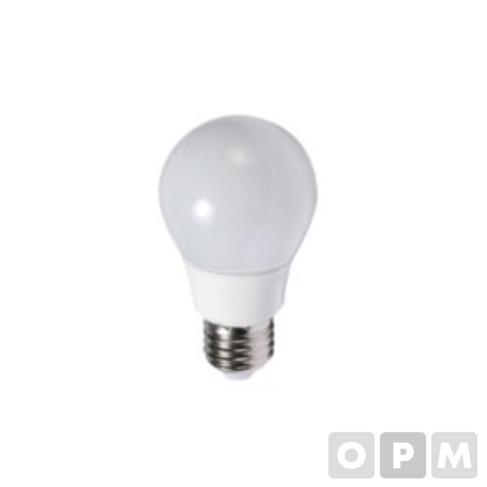 LED/A형벌브(전구형) 5W,220V,KS,Φ50x101mm,(주광색)