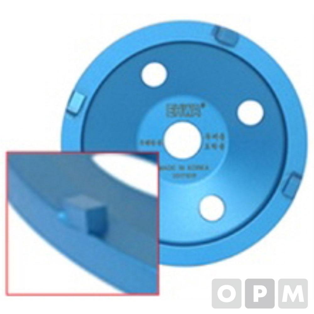 PCD컵(두꺼운 우레탄 도막제거용) PCD 4P (사각)