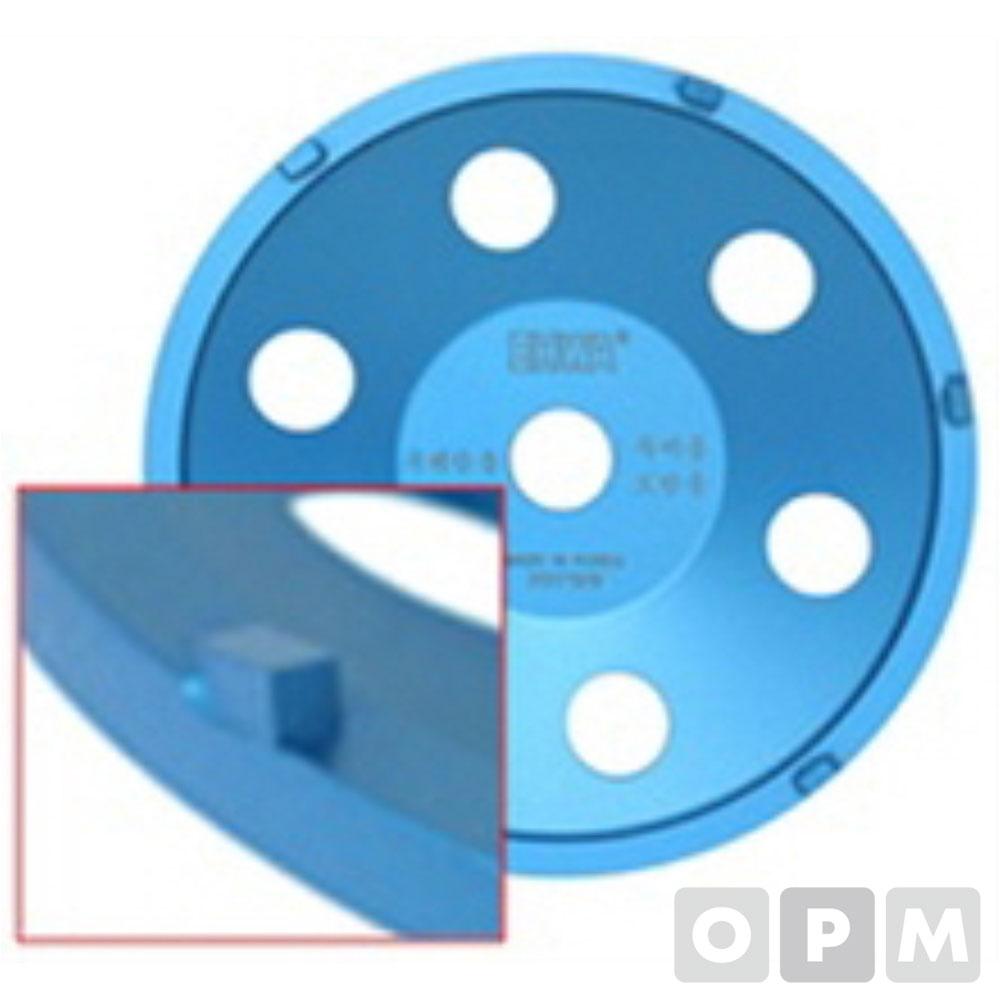 PCD컵 (두꺼운 우레탄 도막제거용) PCD 7P (사각)