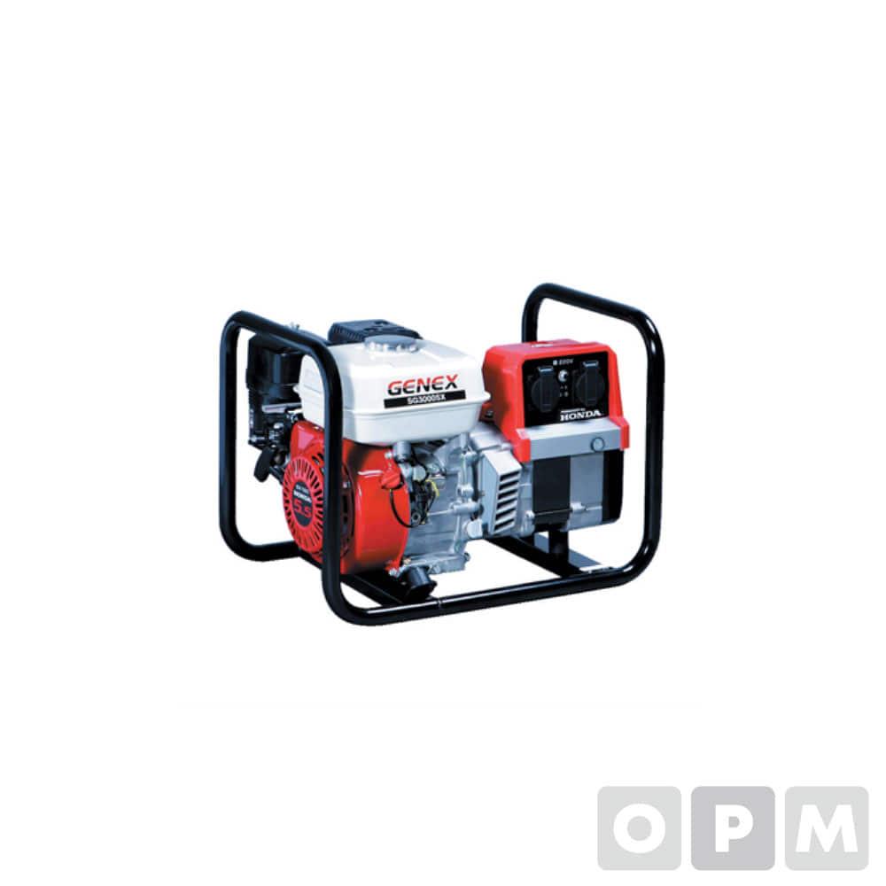 발전기 2.2(2.7)KVA 163cc 3.1L/2.2H 35kg xGX160