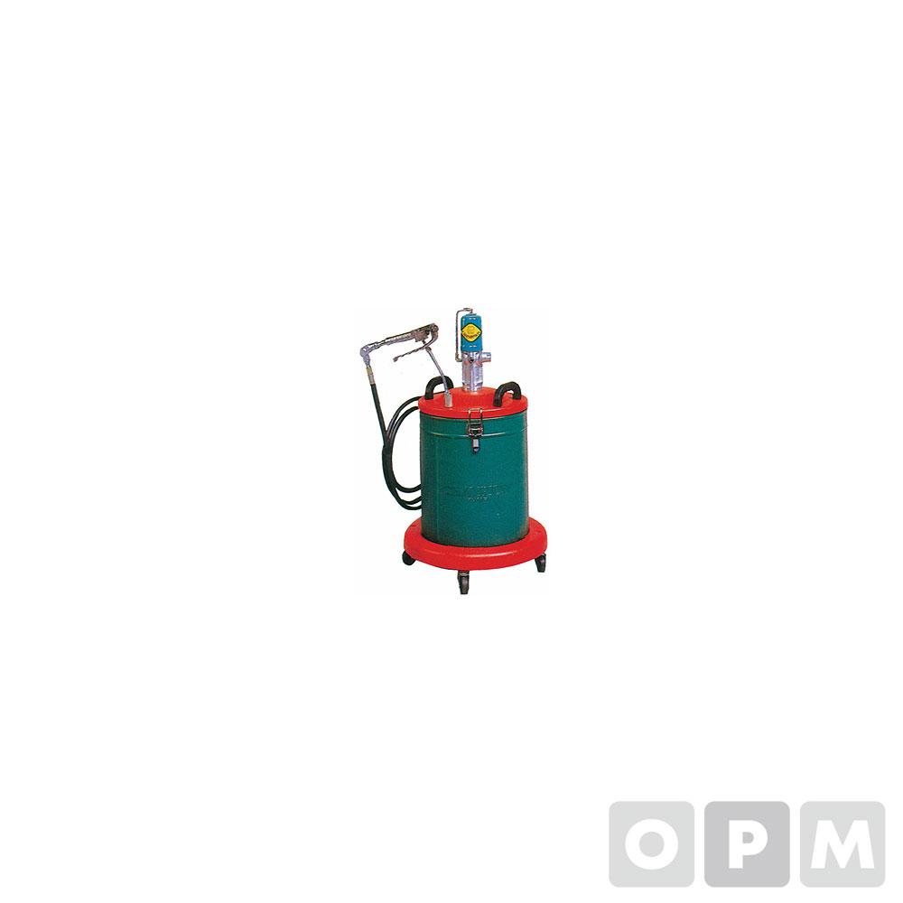 에어자동구리스펌프 20L 호스3M 11Kg 45:1