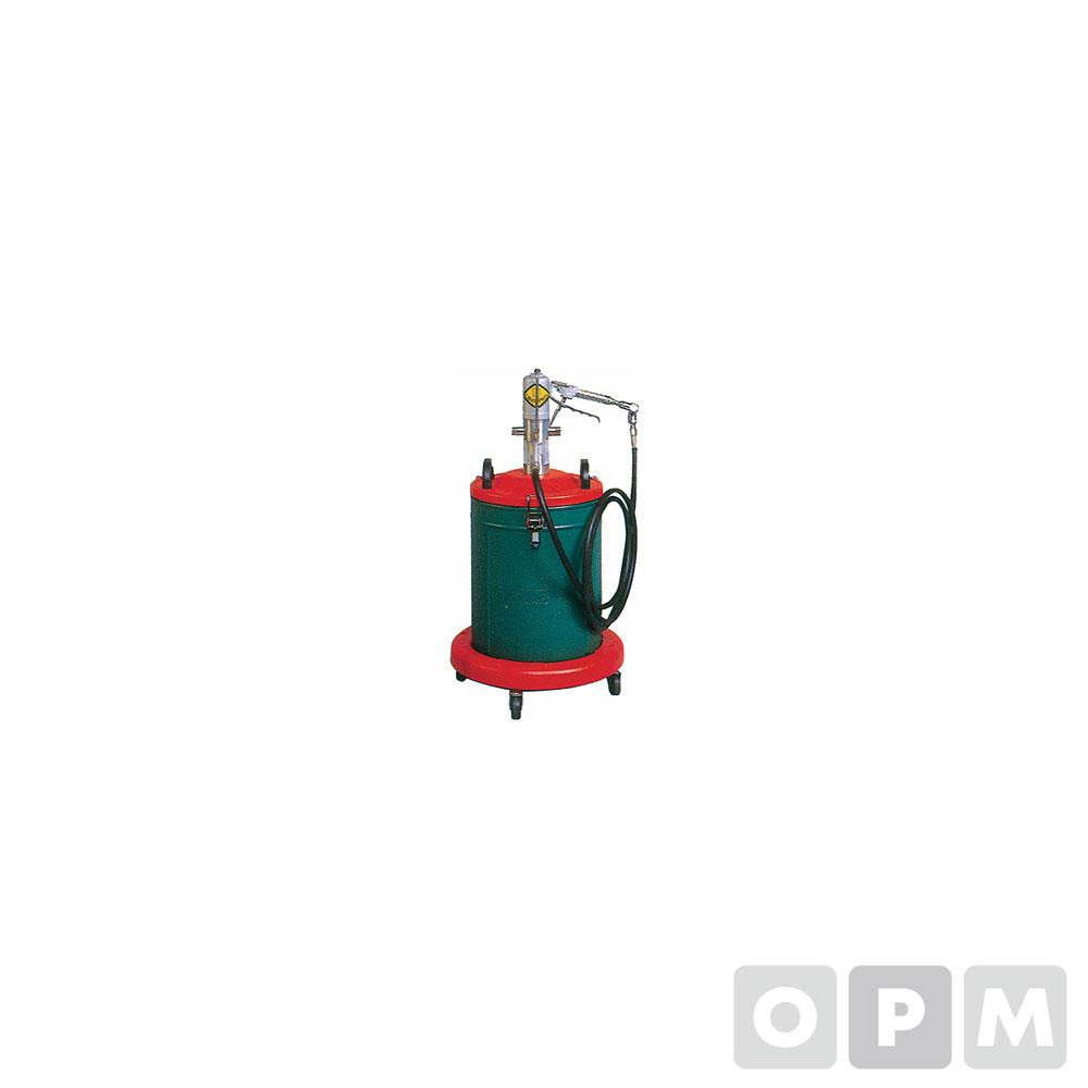 에어자동구리스펌프 20L 호스3M 12.5Kg 50:1