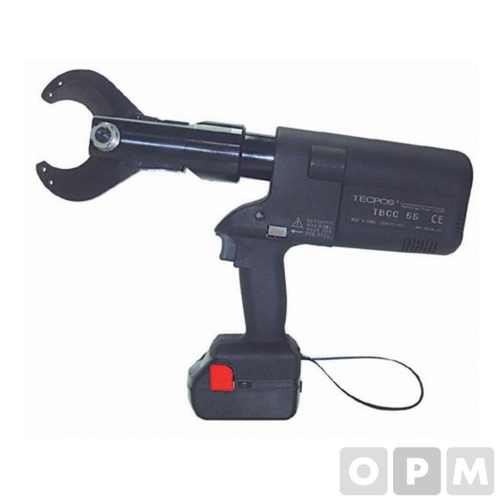 충전 유압 절단기 55MM(케이블 전용)