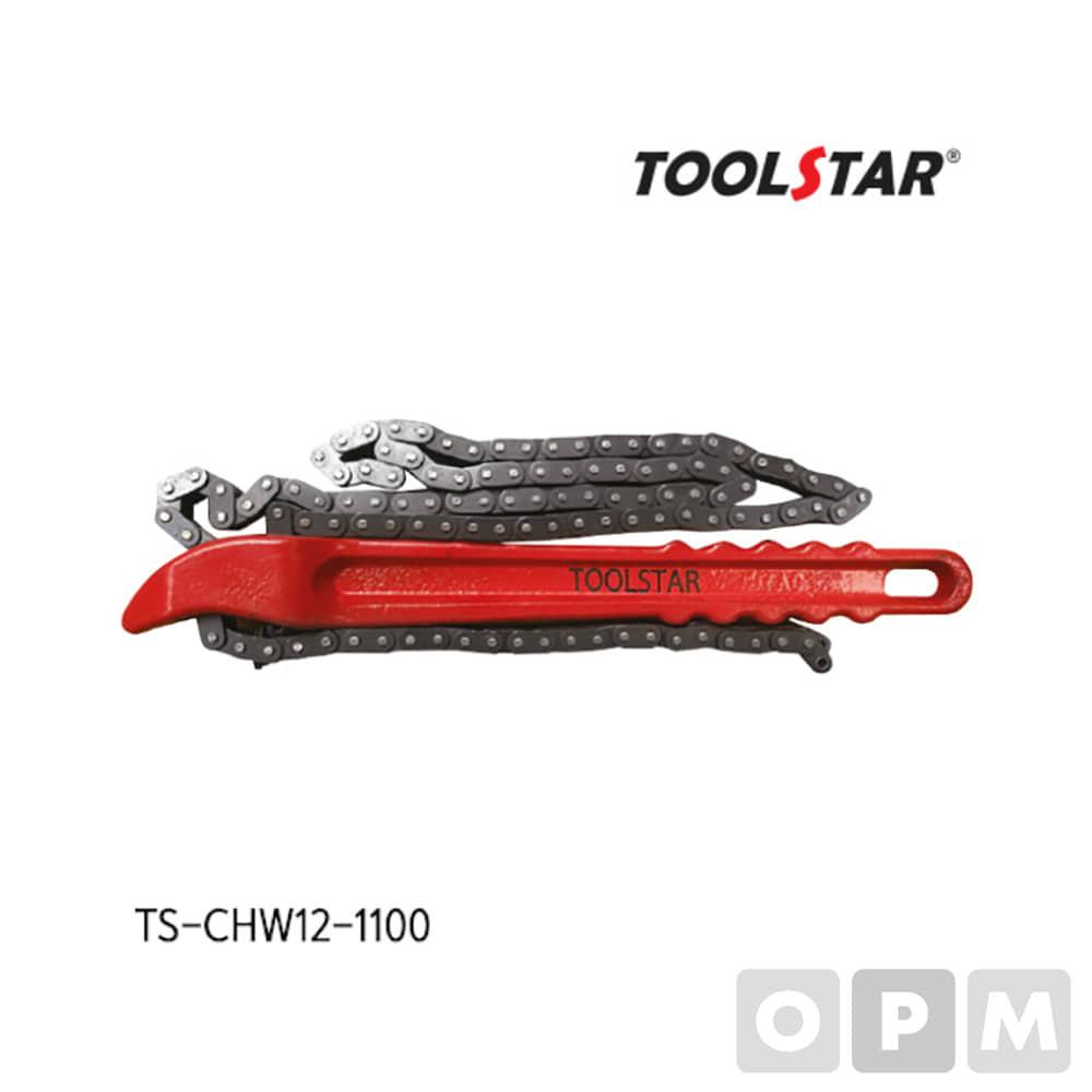 툴스타 체인렌치 TS-CHW12-1100 체인 렌치 12