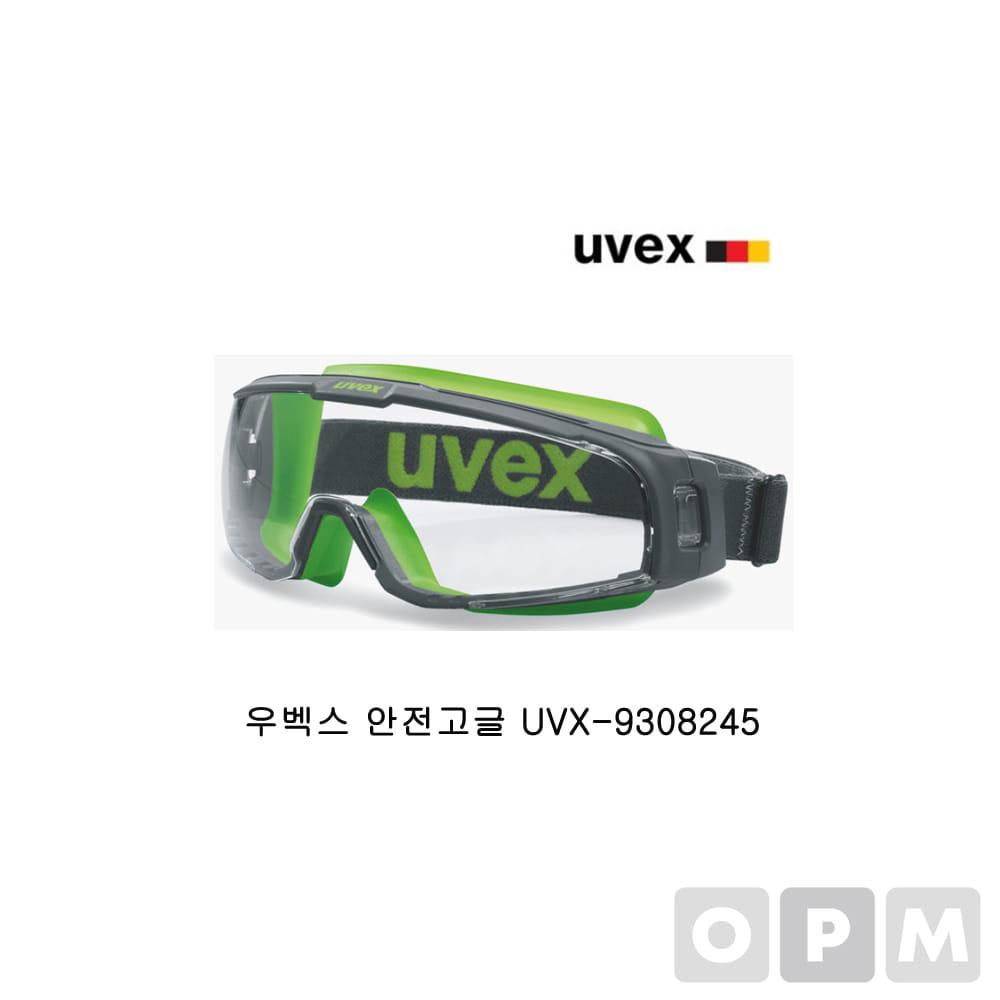 우벡스 안전고글 U-SONIC 9308245 투명 고글 보안경