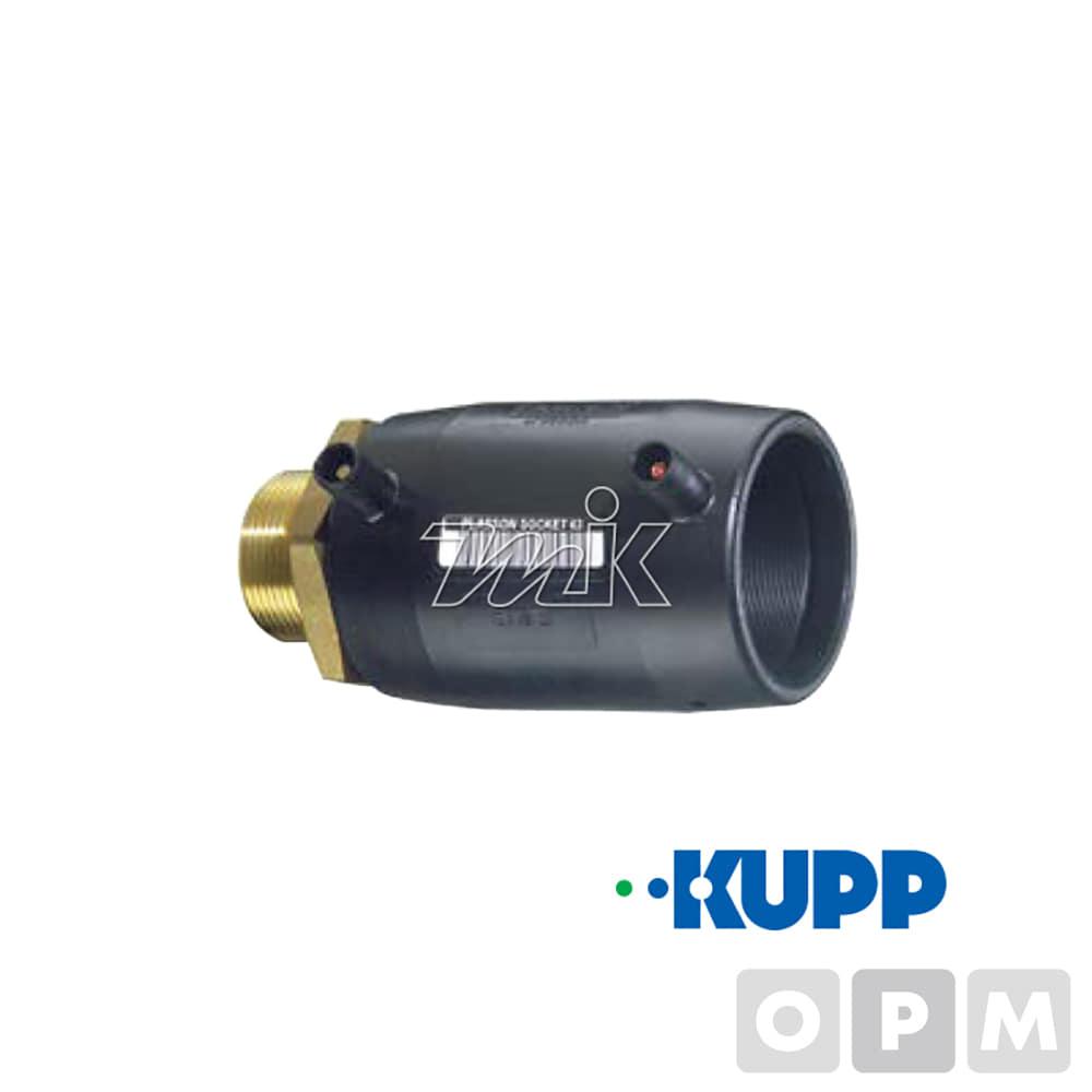 PE전기융착(ISO)-M밸브소켓 63*50A(2″)