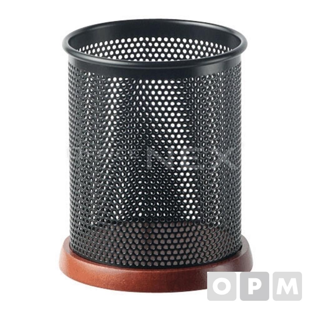 피스코리아 블랙 우드 펜꽂이(90x90x150mm)