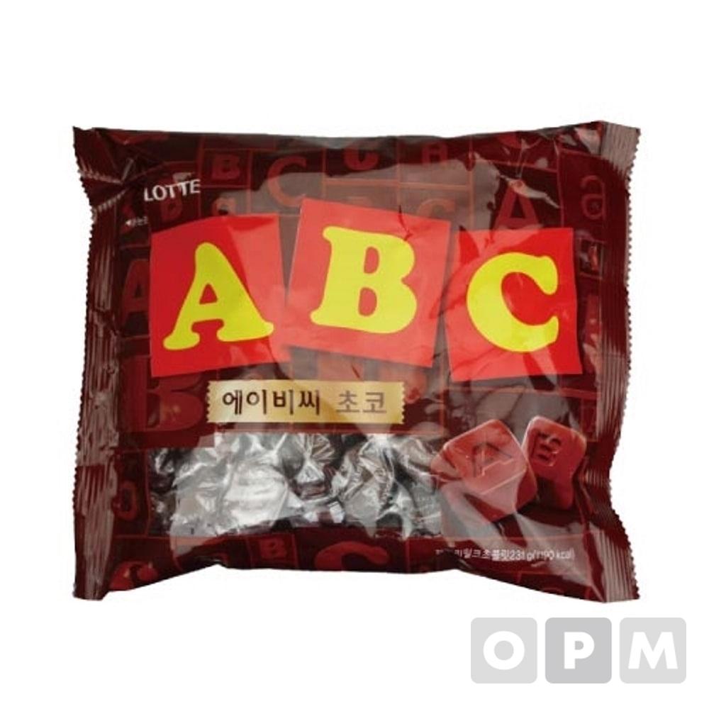 롯데 ABC초콜릿(210g)