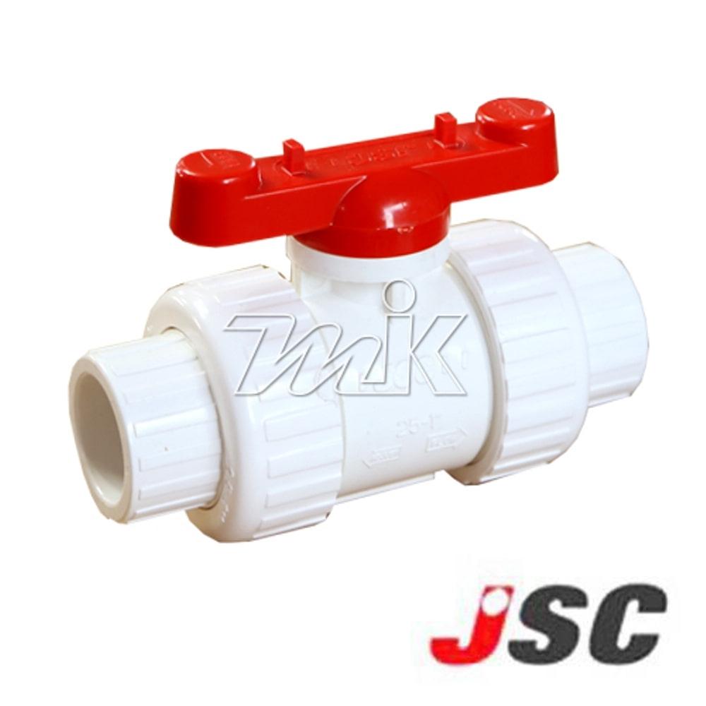 PVC트루유니온밸브(본드)백색80A(7)