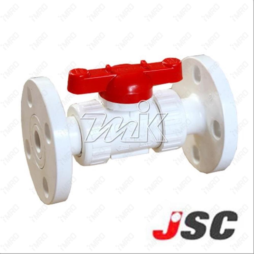 PVC트루유니온밸브(F)백색50A