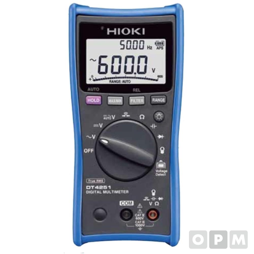 디지털 멀티테스터(현장용/신형) DT-4252
