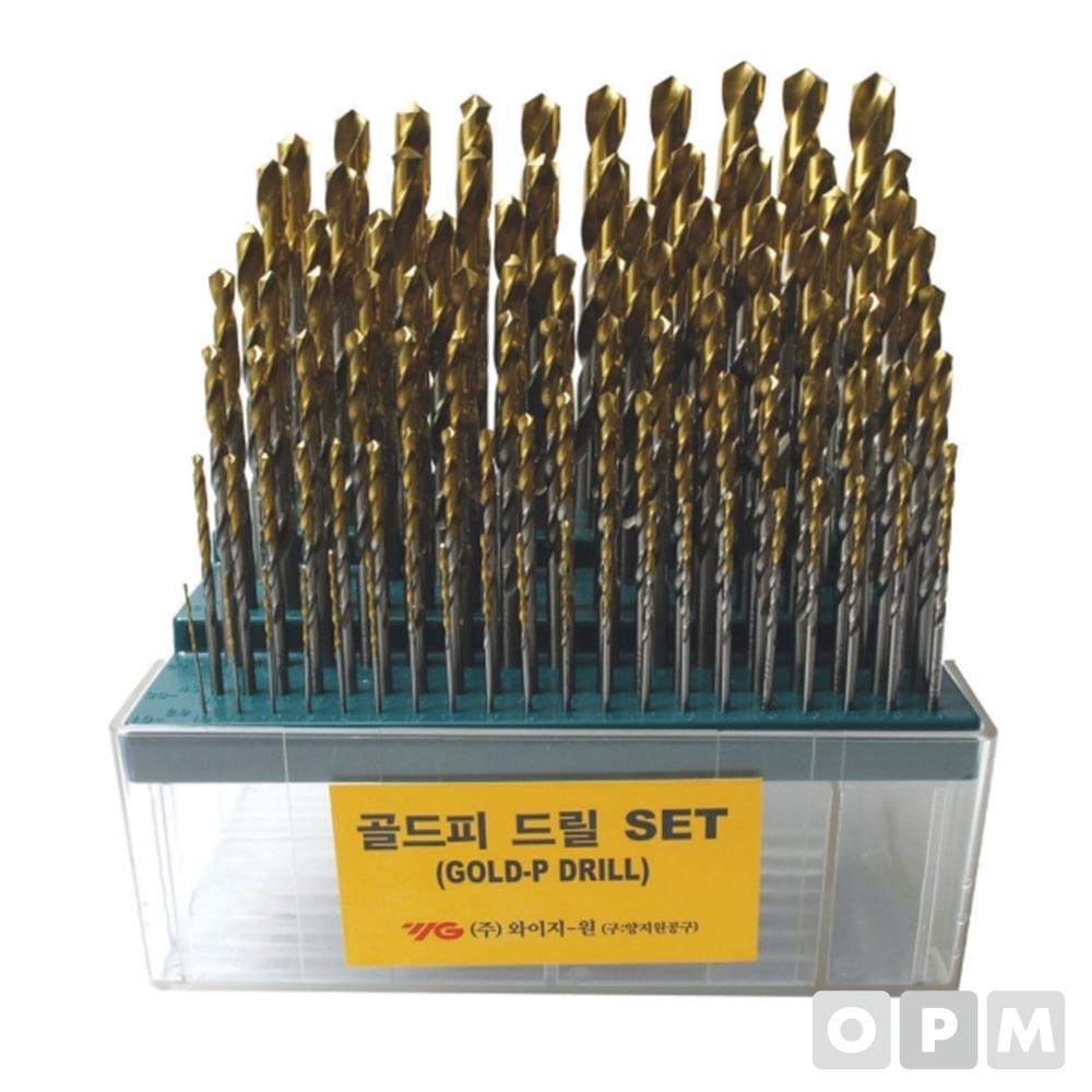 드릴셋트 100본조(GOLD-P) SD-100SGT