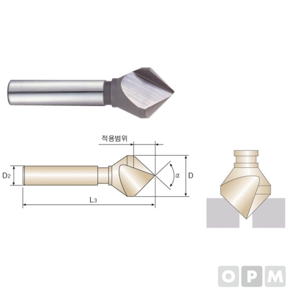 카운터싱크SKH-59(TICN)1F CS1-10