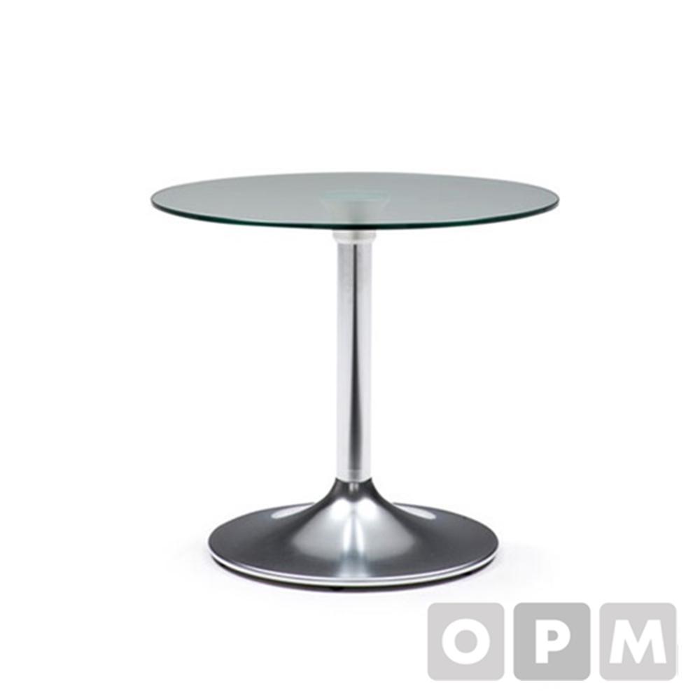 원형 유리 소파 테이블 CL807GH ØØ700x1050:XX/ 유리